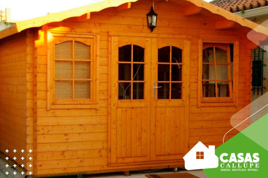 Como cuidar una casa de madera