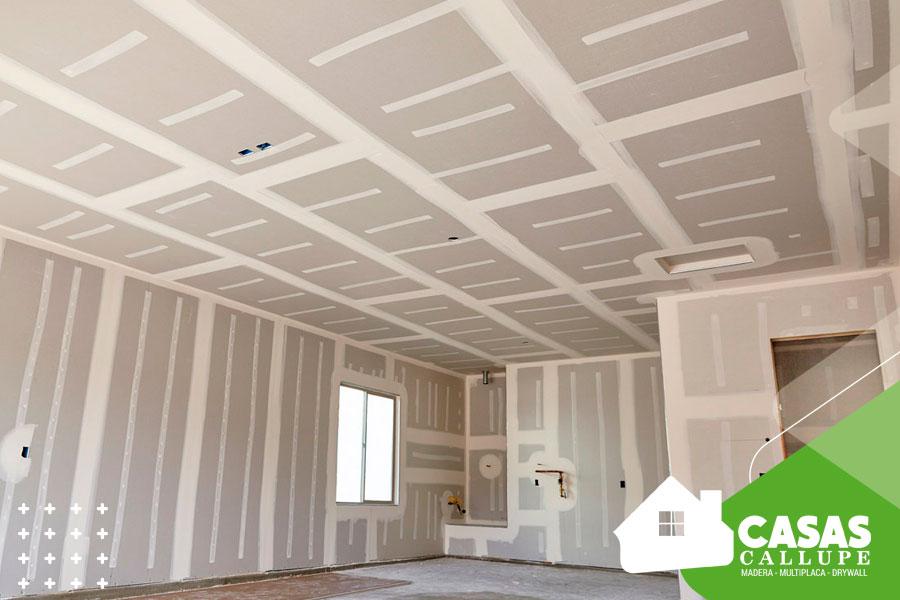 Cuanto cuesta una construcción en drywall