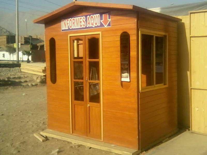 Kioskos de madera