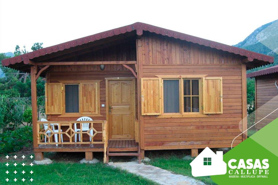 Casas de madera para bungalows