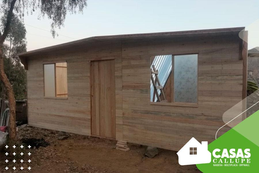 Casas de madera barato