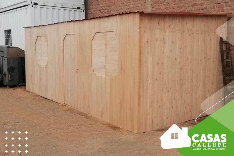 Casas de madera para depositos