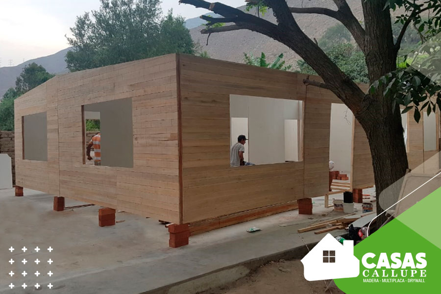 Casas de madera para hogares